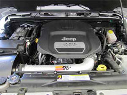77-1566KP installed on a 2012 Jeep Wrangler 3.6L