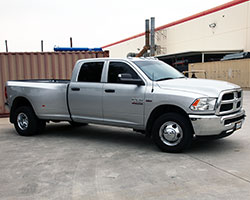 2014-2016 Ram Heavy Duty Trucks with Hemi V8 engine have performance air intake ugrade option
