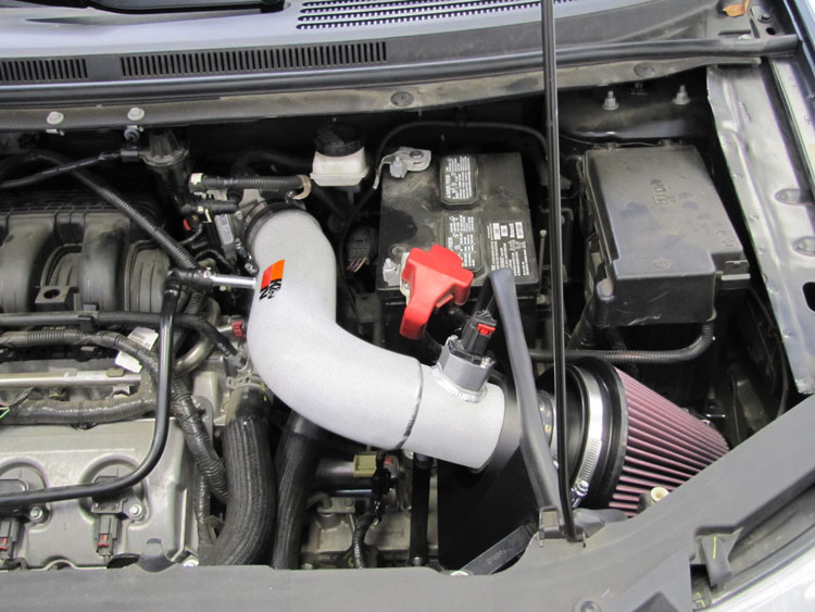 Ford Edge  L With Kn Air Intake Installed