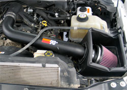 Air Intake installed on 2008 F250 Super Duty 5.4 liter V8