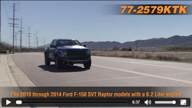 K&N 77-2579KTK Air Intake Installation Video for 2010-2014 Ford F150 SVT Raptor 6.2L