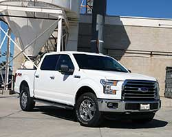 The 2015 and 2016 Ford F-150 has shed up to 750 lbs and less weight combined with more power from a K&N air intake system will increase the rate of acceleration