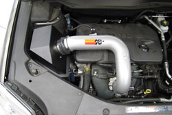 K&N Air Intake Installed on 2010 GMC Terrain 2.4L and Chevy Equinox 2.4L