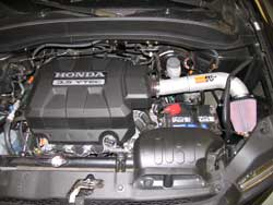 K&N 77-3515KP Air Intake Installed on a Honda Ridgeline