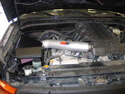 K&N Air Intake Installed on 2010 to 2015 Toyota 4Runner and FJ Cruiser