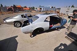 1967 Camaro in the California High Desert