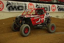 RJ Anderson in his #37 UTV at  Lucas Off-Road Racing Series Round 8 at Estero Beach, Baja California