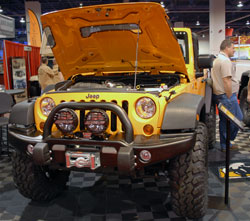 AEV specializes in Jeep aftermarket parts and their work has been displayed on the limited edition Call of Duty Jeep Wrangler.