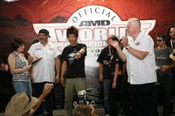 Ken Tabata walked away the world champion during the recent AMD World Championship of Custom Bike Building.