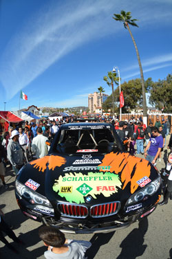 The BMW X6 body on the AGM Motorsports rig is certainly one of a kind in the Baja racing world