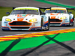 The Aston Martin Racing #97 Vantage GTE finished fifth in the 6 Hours of Spa GTE Pro class
