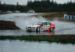 Tino Aaltonen's BMW rally car