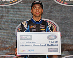 Rico Abreu captured his second Coors Light Pole Award in a row at Columbus Motor Speedway