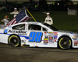 With Abreu's win in the NAPA 150, he continues a breakout year that saw him sign with HScott Motorsports & win two Coors Light Pole Awards