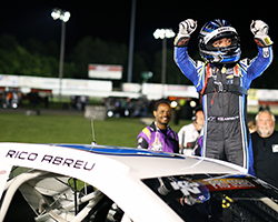 Rico Abreu is following the path that his friend and fellow Californian Kyle Larson