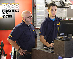 Greg Adler in disguise for CBS Undercover Boss