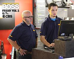 Greg Adler in disguise for CBS Undercover Boss