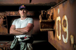 Aleksandr Grinchuk is the ironman of Ukrainian drifting