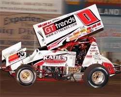 Jonathan Allard's sprint car