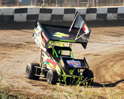 Despite Jake Andreotti's lack of familiarity with Dixon Speedway in Dixon, California he managed to qualify third fastest