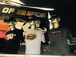 K&N apparel at the Indianapolis Motor Speedway