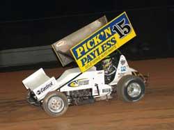 Donny Schatz at Parramatta City Raceway