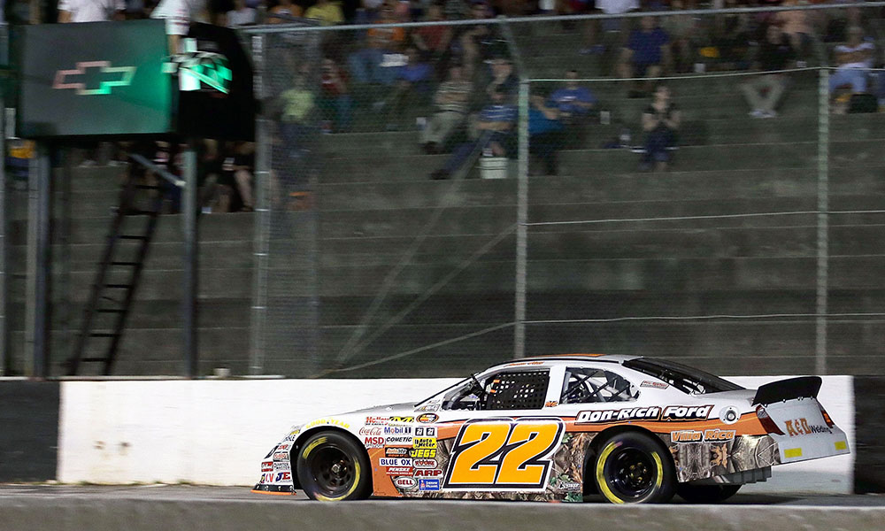 Austin Hill Claims The Win Amp Rhodes Clinches The Nascar K