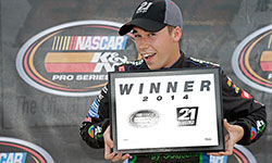 Ben Rhodes won his sixth 21 Means 21 Pole Award presented ty Coors Light for having the fastest lap time during qualifying but a race start violation had him battling back toward the front