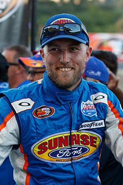 Ryan Partridge portrait at Douglas County Speedway