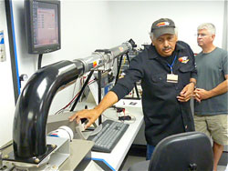 K&N's Joel Valles speaks to BMW owners about how mass airflow sensors are tested.