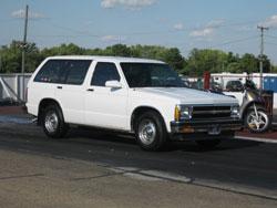 Ballard family's 1992 Chevy S-10 Blazer
