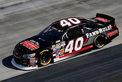 Kyle Benjamin won the first NASCAR K&N Pro Series East race