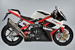 The K&N and Bimota connection was a technical partnership over a year in the making