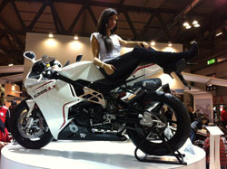The new Bimota motorcycles with K&N air filter technology were a big hit at the EICMA show in Milan