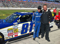 Blake Koch was recently in the running for the NASCAR Nationwide Series Rookie of the Year Award.