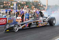 Greg Boutte's 2002 Worthy Rear Engine Dragster