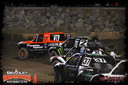 In round 9 Bradley Morris held off the hard charges coming from Casey Currie and Brian Deegan the entire race before claiming his first ever LOORRS victory.