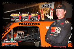 The young talent says his family and friends help him stay grounded between races.