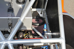 Bradley Morris uses a K&N intake system on his trophy truck