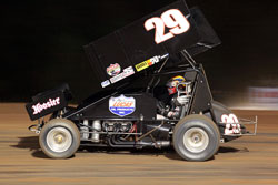 Sprint car driver, Brandon Hahn, is a third-generation driver and is eager to follow in his family's footsteps