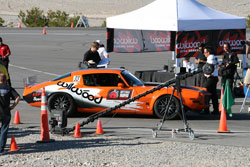 Behind-the-scenes at the starting line - Optima Ultimate Street Car Challenge