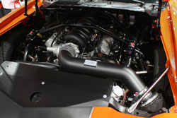 K&N fabricated a custom intake for Brian, giving him extra performance