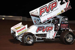 Brian Brown suffered through a back injury during a portion of the 2011 race season.