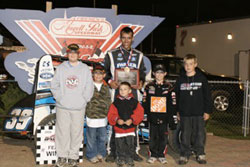 Bryan Clauson began racing at an early age. His hard work has been paying off.