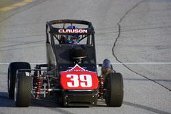 Bryan Clauson at Turkey Night Grand Prix at Toyota Speedway