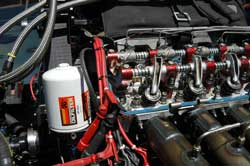 Team Worsham uses K&N's Premium Performance Gold Oil Filter