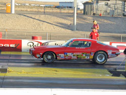 K&N's Brad Burton capped off his 2011 season by winning two of the four days at the Las Vegas Bracket Nationals run at LVMS.