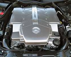 2005 Mercedes CLK55 AMG 5.4-liter V8 engine
