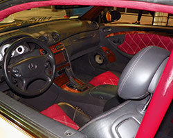 2005 Mercedes CLK55 AMG interior