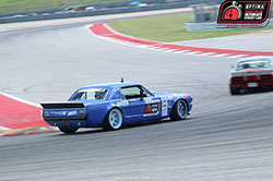 Mike Maier in 1966 Ford Mustang Old Blues